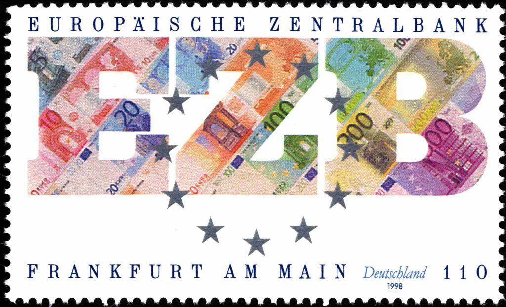 Deutschland 1998 Gründung der Europäischen Zentralbank