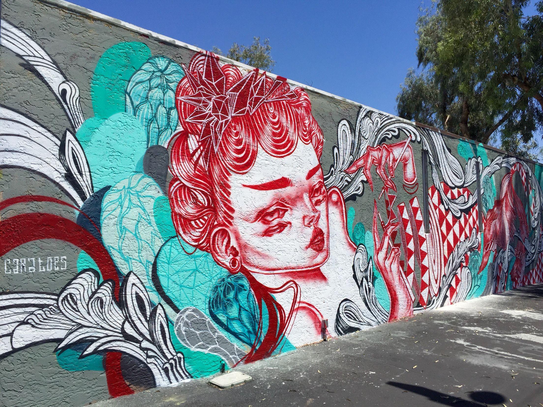 Graffiti art diy - Midtown Phoenix Phoenix Az Wallart Urban Art Mural Street Art