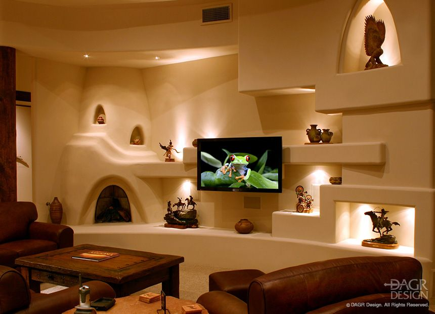 When We Design Your New Custom Home Entertainment Center Your Big Screen Tv Is Obviously A