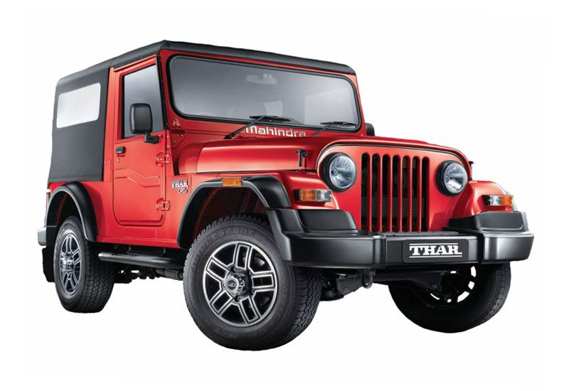 Mahindra Thar Facelift Launched 23rd July 2015 With Images