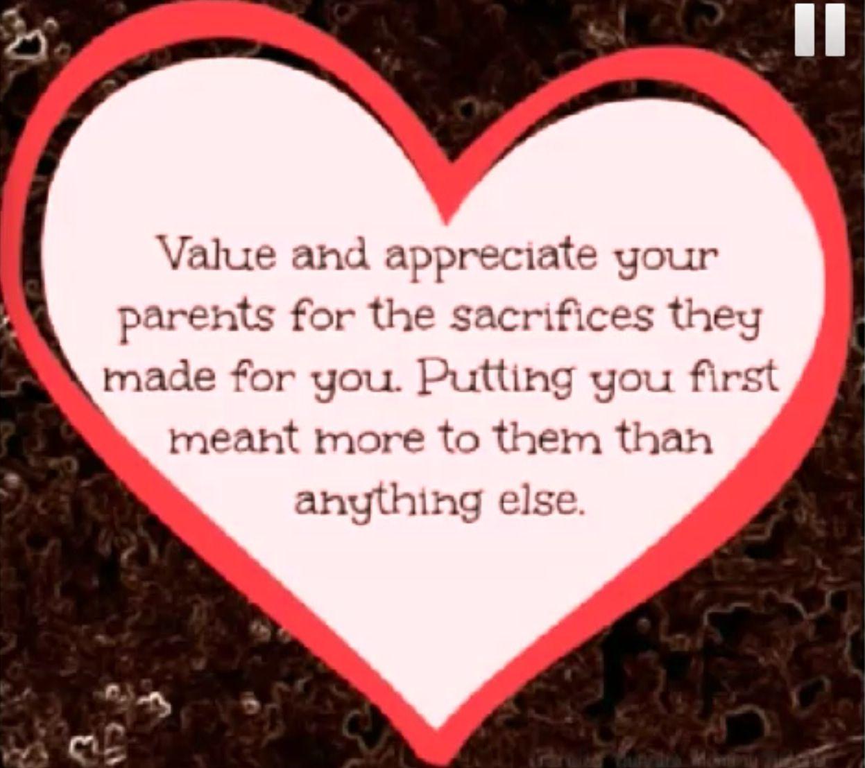 Please Appreciate Your Parents Love Your Parents Quotes Love Your Parents Respect Your Parents