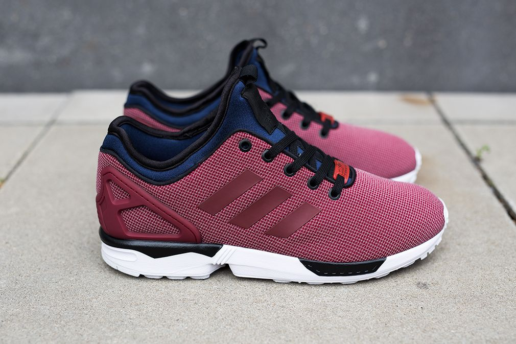 low priced 369ac 85703 adidas ZX Flux NPS  Burgundy