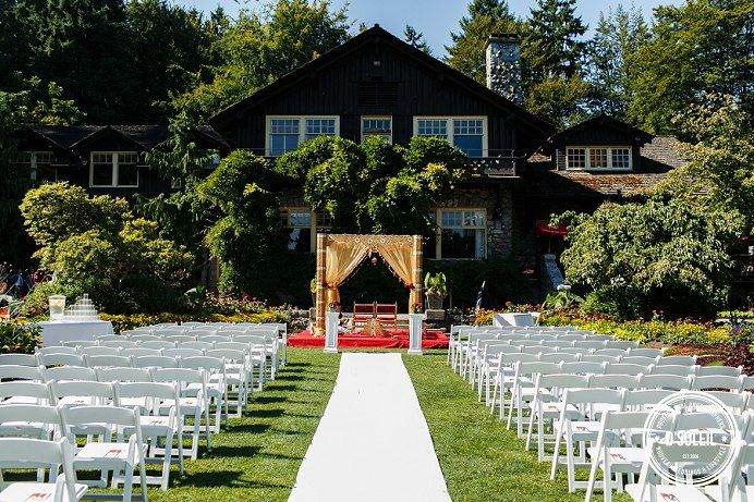 Stanley Park Pavilion Wedding Outdoors