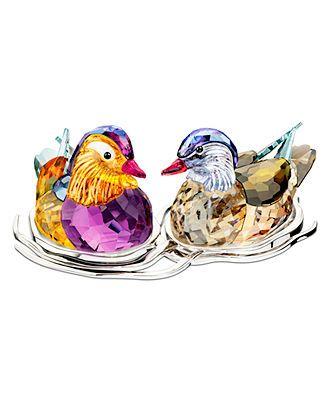 Swarovski Collectible Figurine, Topaz Mandarin Ducks - Collectible Figurines - for the home - Macy's