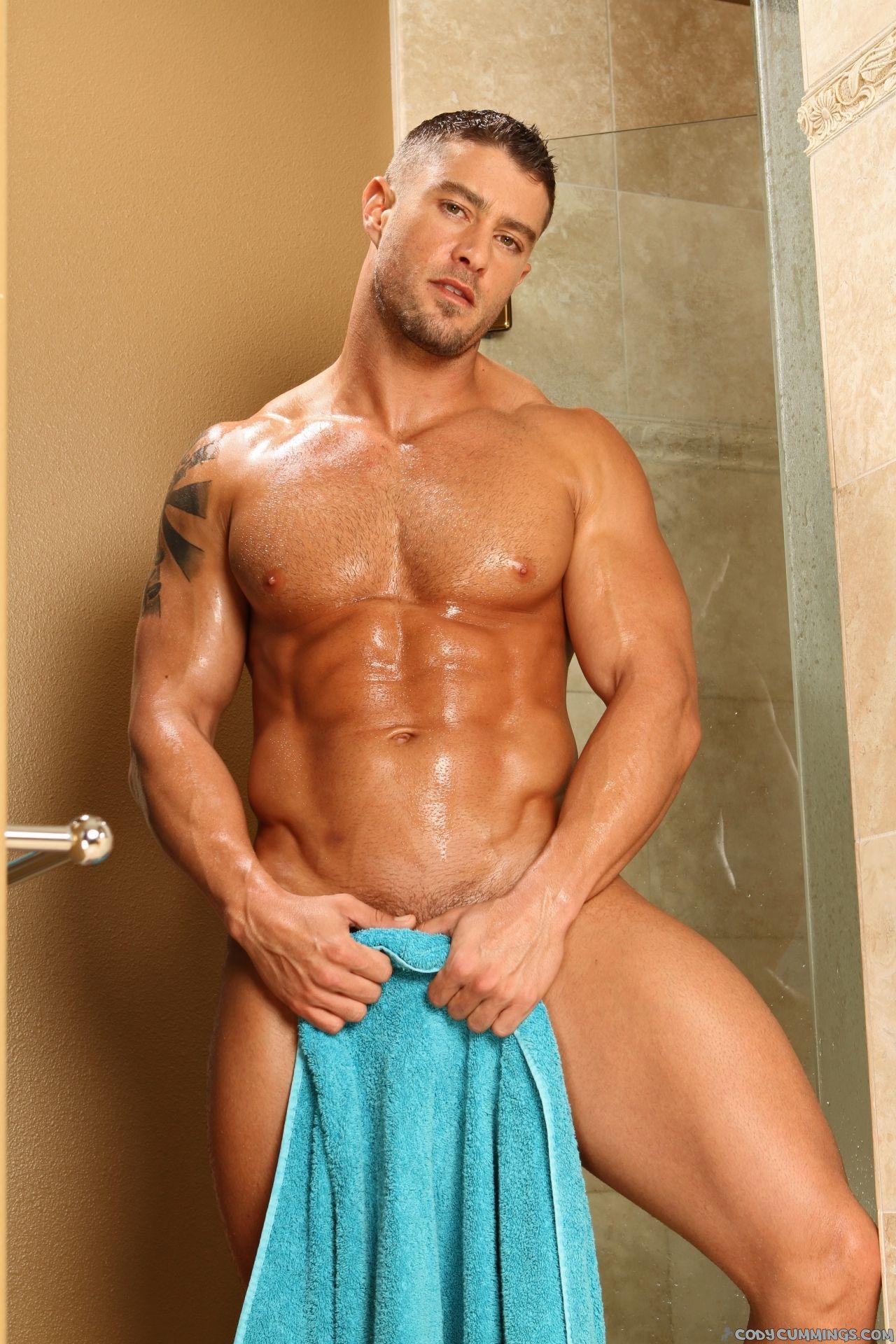 Cody cummings shower