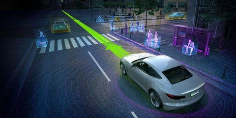 Tesla Supplier Nvidia Announces New In Car Ai Supercomputer Self Driving Nvidia Car Crash