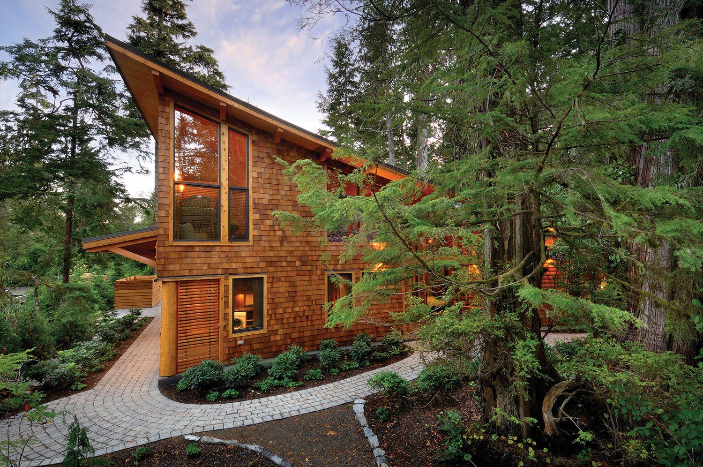West-coast-rainforest-cedar-timber-frame-home 4 Dream