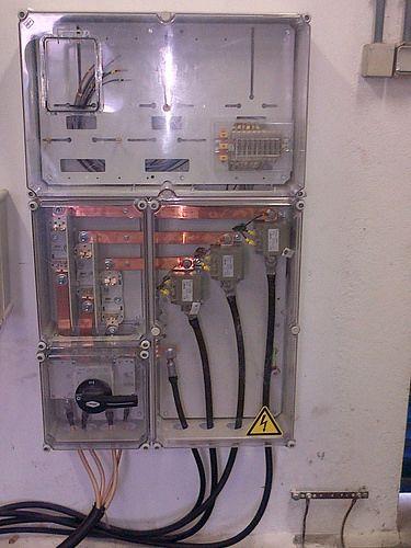 Instalacion de Modulo de Contador Trifasico de medida indirecta con Transformadores de intensidad.