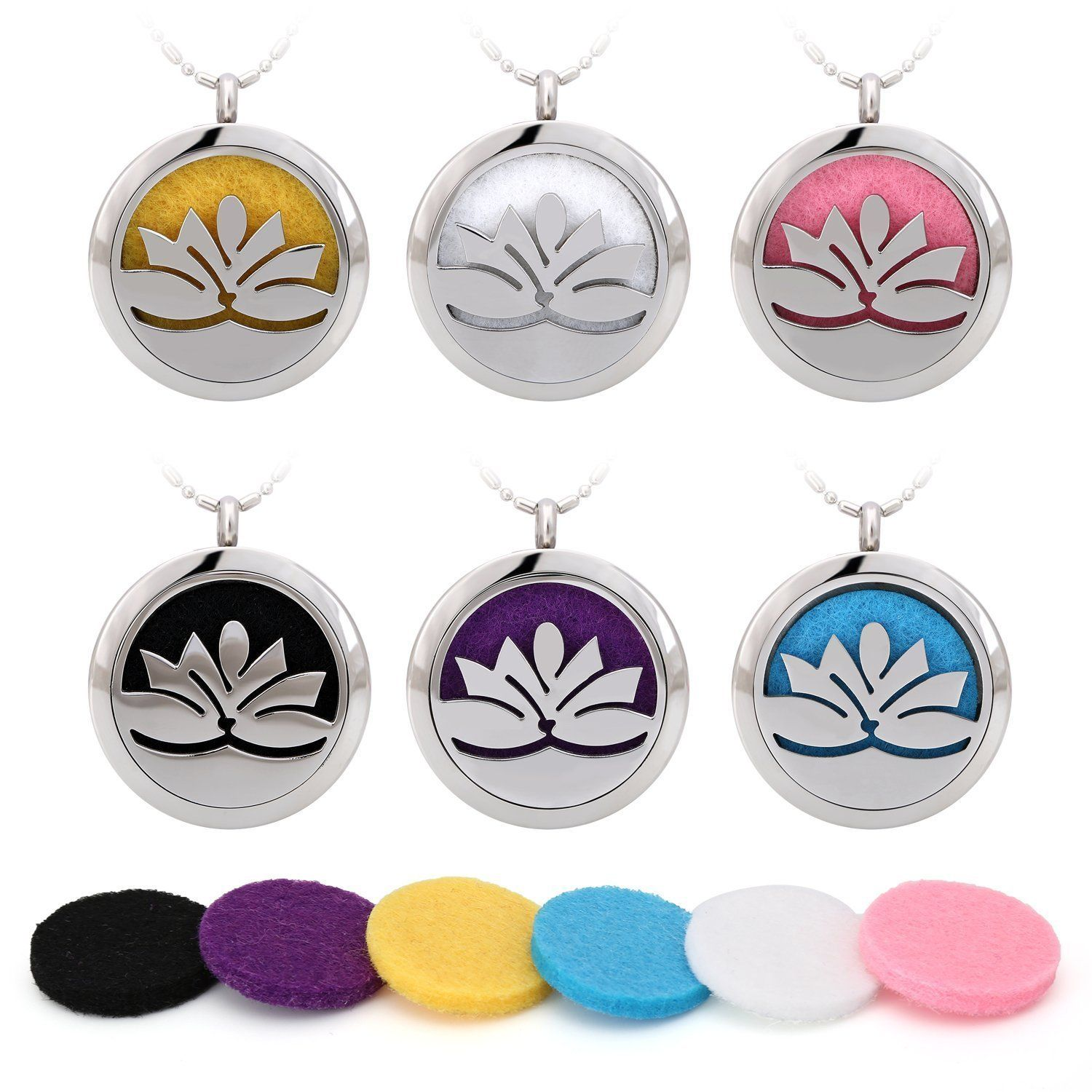 Amazoncom Blowin Stainless Steel Lotus Flower Aromatherapy