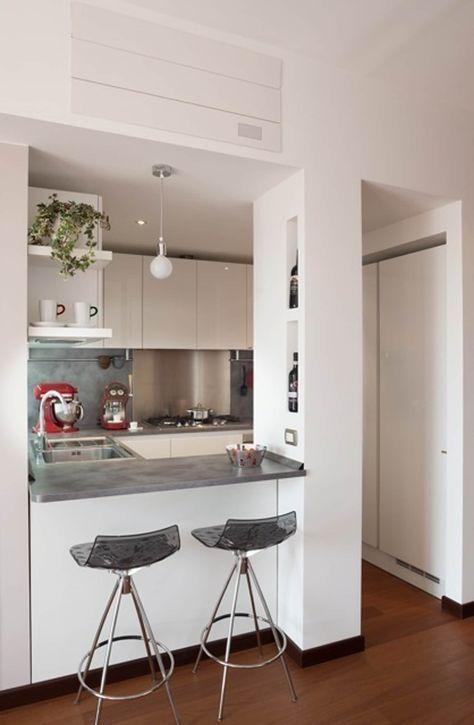 Idee Arredamento Casa  Interior Design Parete divisoria - cocinas con barra