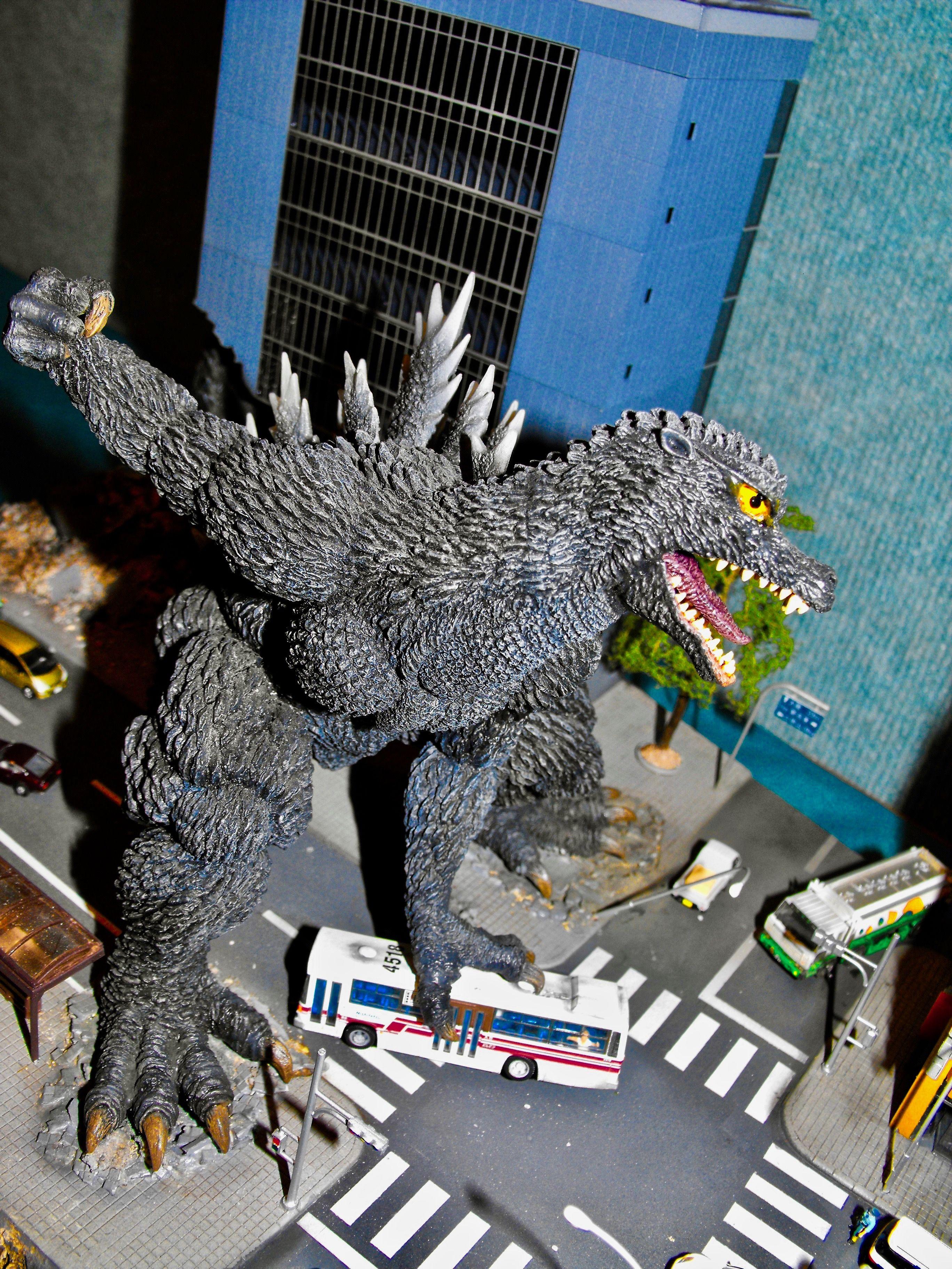 Godzilla from GODZILLA FINAL WARS (2004) Godzilla, Lion
