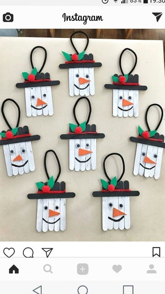 10 Easy Snowman Crafts for Kids and Adults ⋆ بالعر