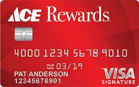Ace Hardware Credit Card Is A Credit Card That Has A Good Reward