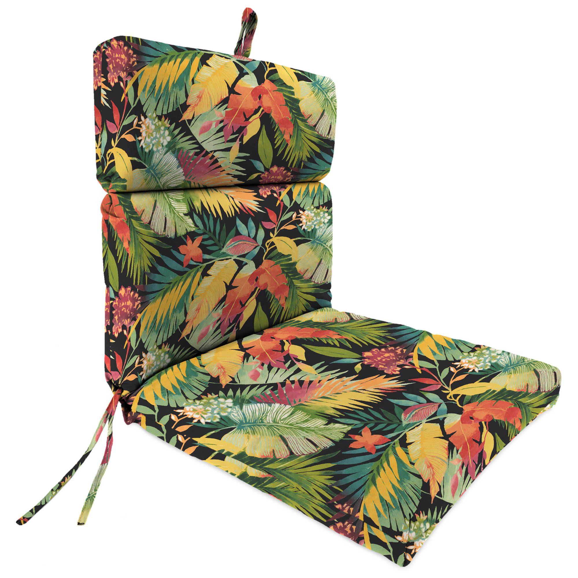 Jordan Manufacturing Outdoor Patio Chair Cushion Tomesha