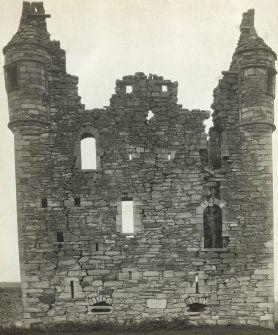 Busbie Castle, East Ayrshire. Scotland