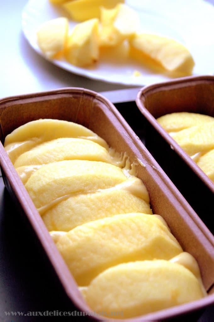 Quatre quart aux pommes breton