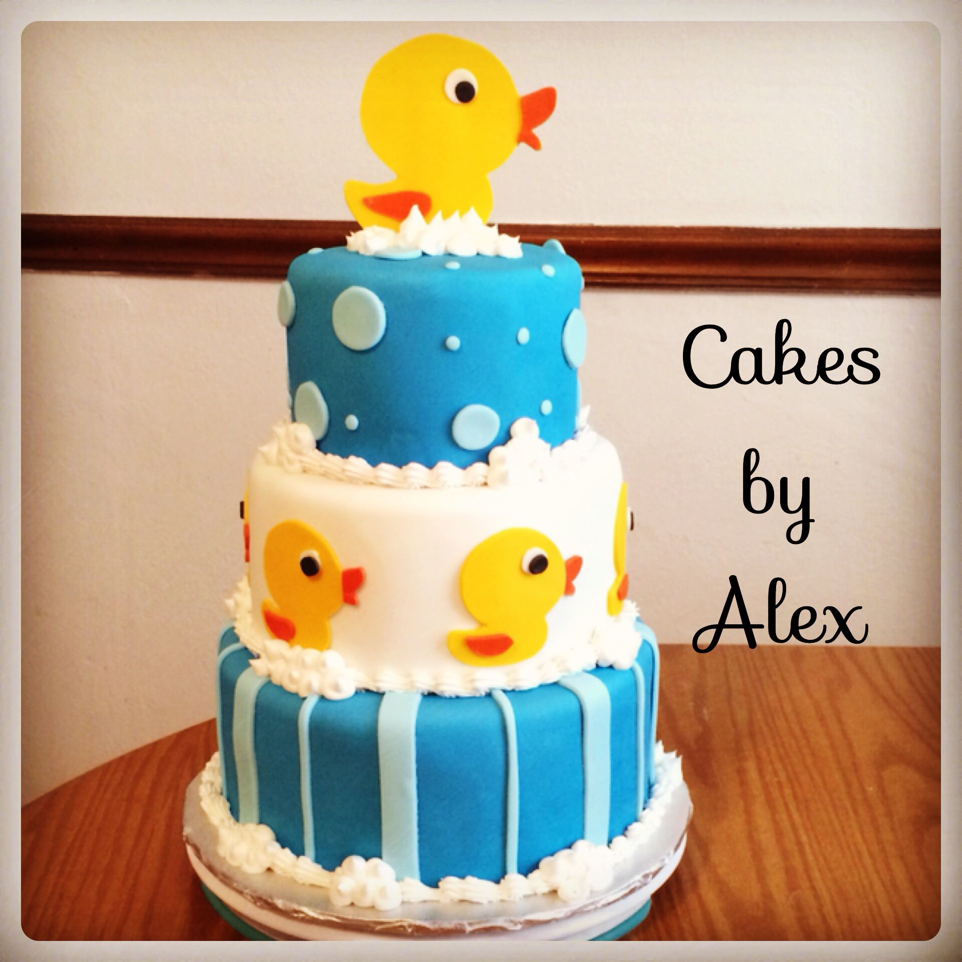 Baby Shower Cakes Kingston ~ Rubber ducky baby shower cake cakes