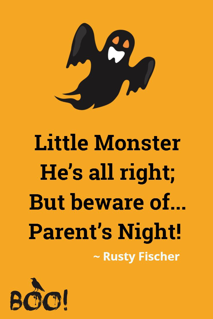parents night a halloween poem | halloweeny screamy! halloween