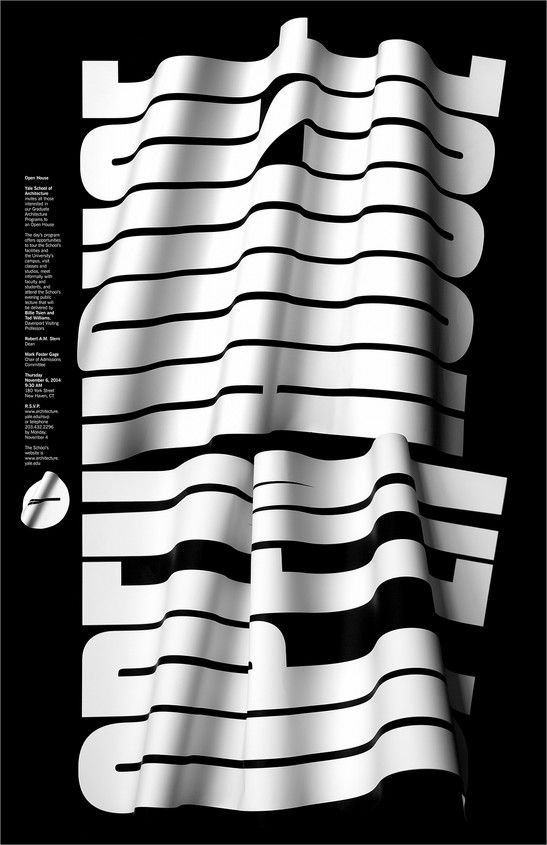 Yale Architecture School poster by Jessica Svendsen | little ...
