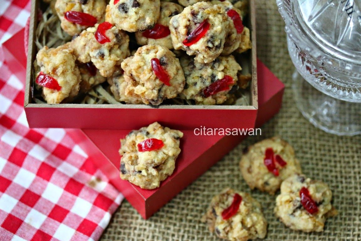 Biskut Red Pearl Red Pearl Cookies Resipi Citarasawan Kue Kering Kreker Kue