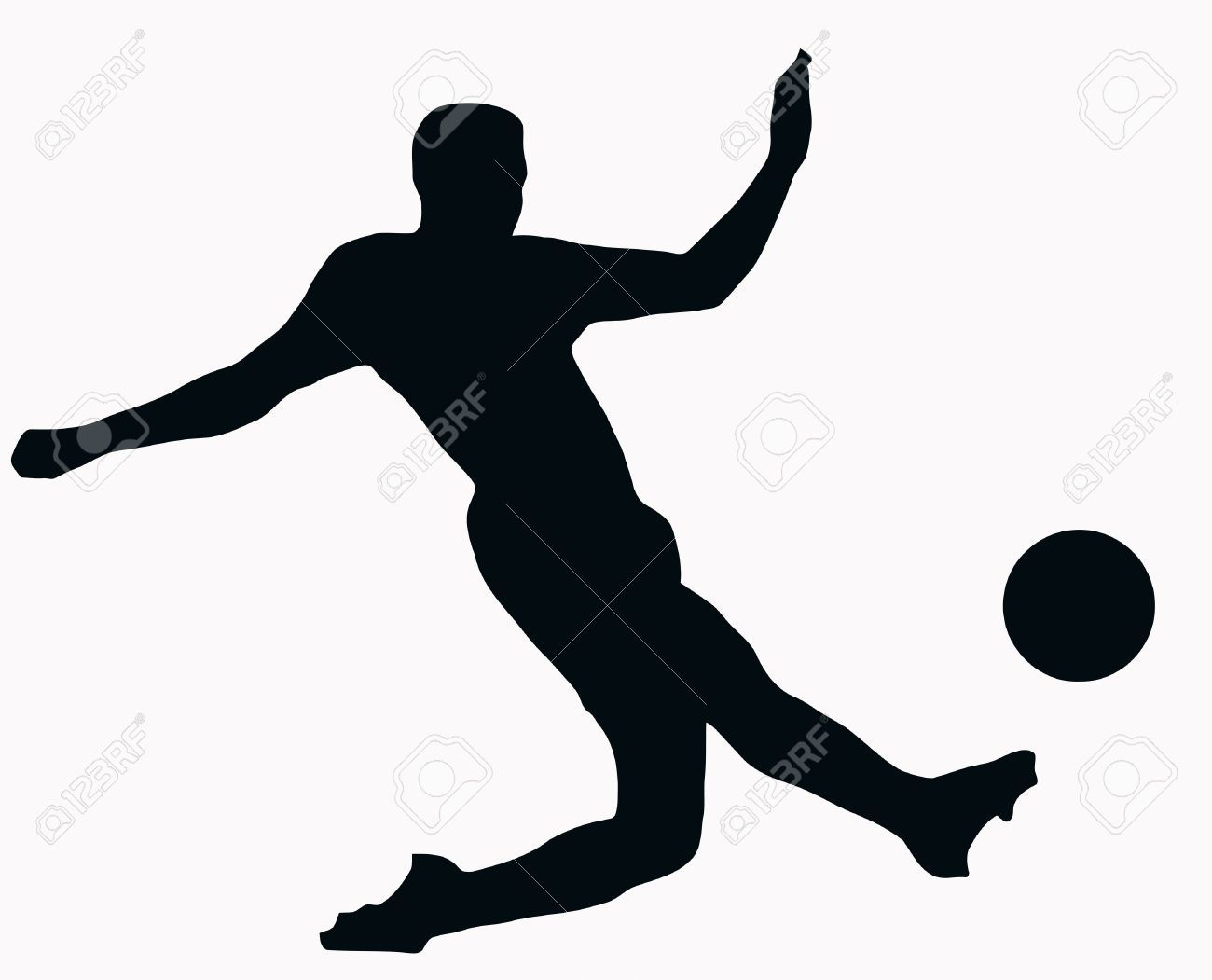 Fondos De Pantalla Fútbol Pelota Silueta Deporte: Clipart Images, Free Clipart
