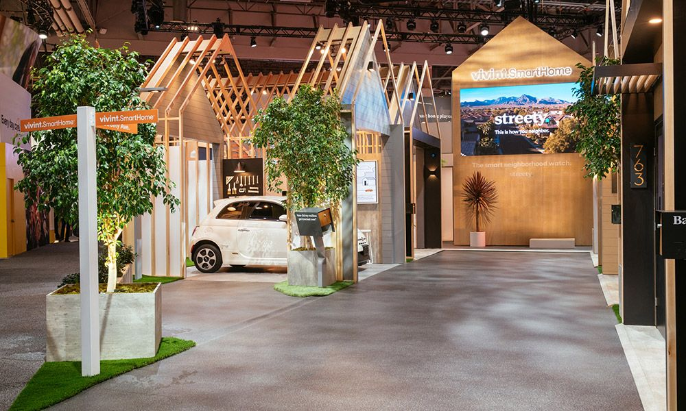 Explore the Vivint Smart Home Booth at CES 2018 Vivint
