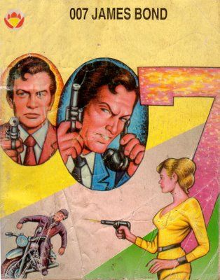 007 Artwork A View To A Kill Comic India James Bond