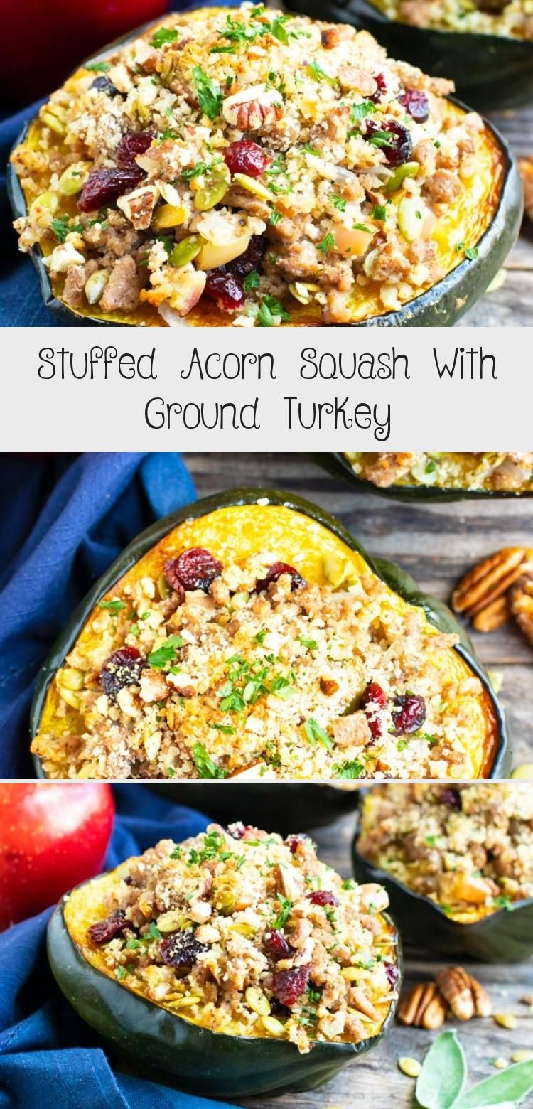 Stuffed Acorn Squash Is An Elegant And Easy Gluten Free Recipe