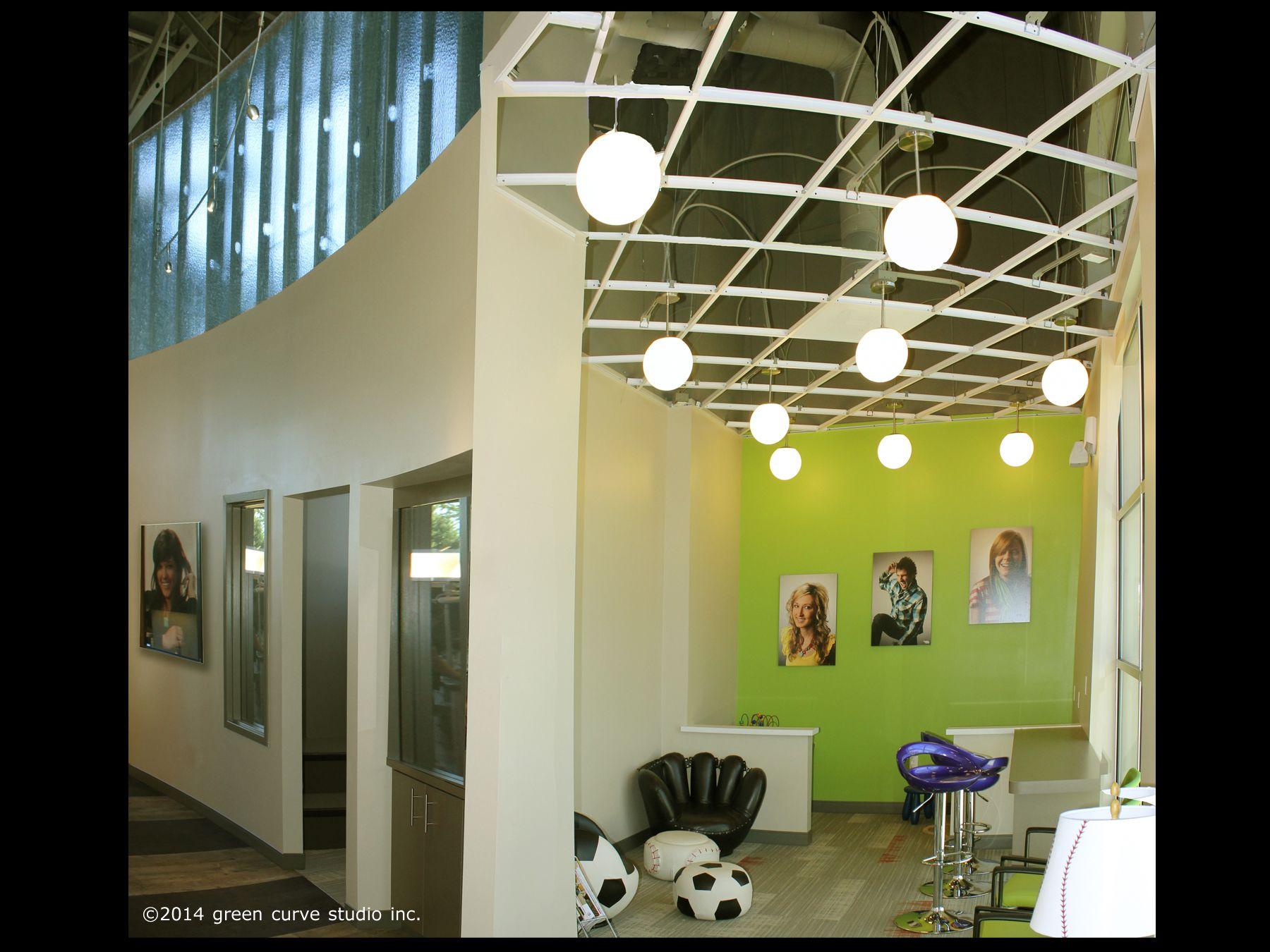 All Star Orthodontics Vancouver Wa Modern Interior Design Healthcare Interior Design Orthodontic Office Design