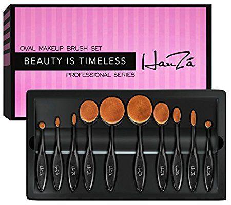 amazon makeup brusheshanzá  10 piece