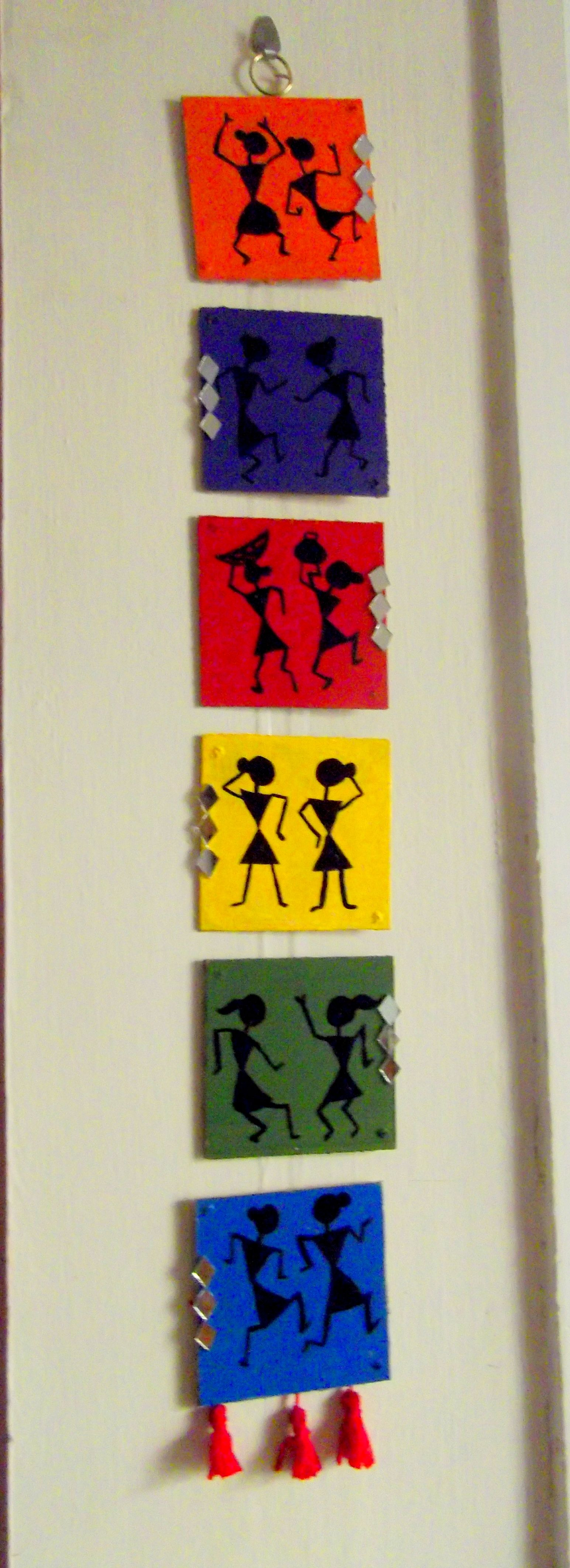 Warli Wall Hanging Diy Projects To Try Hanging Wall Art Worli