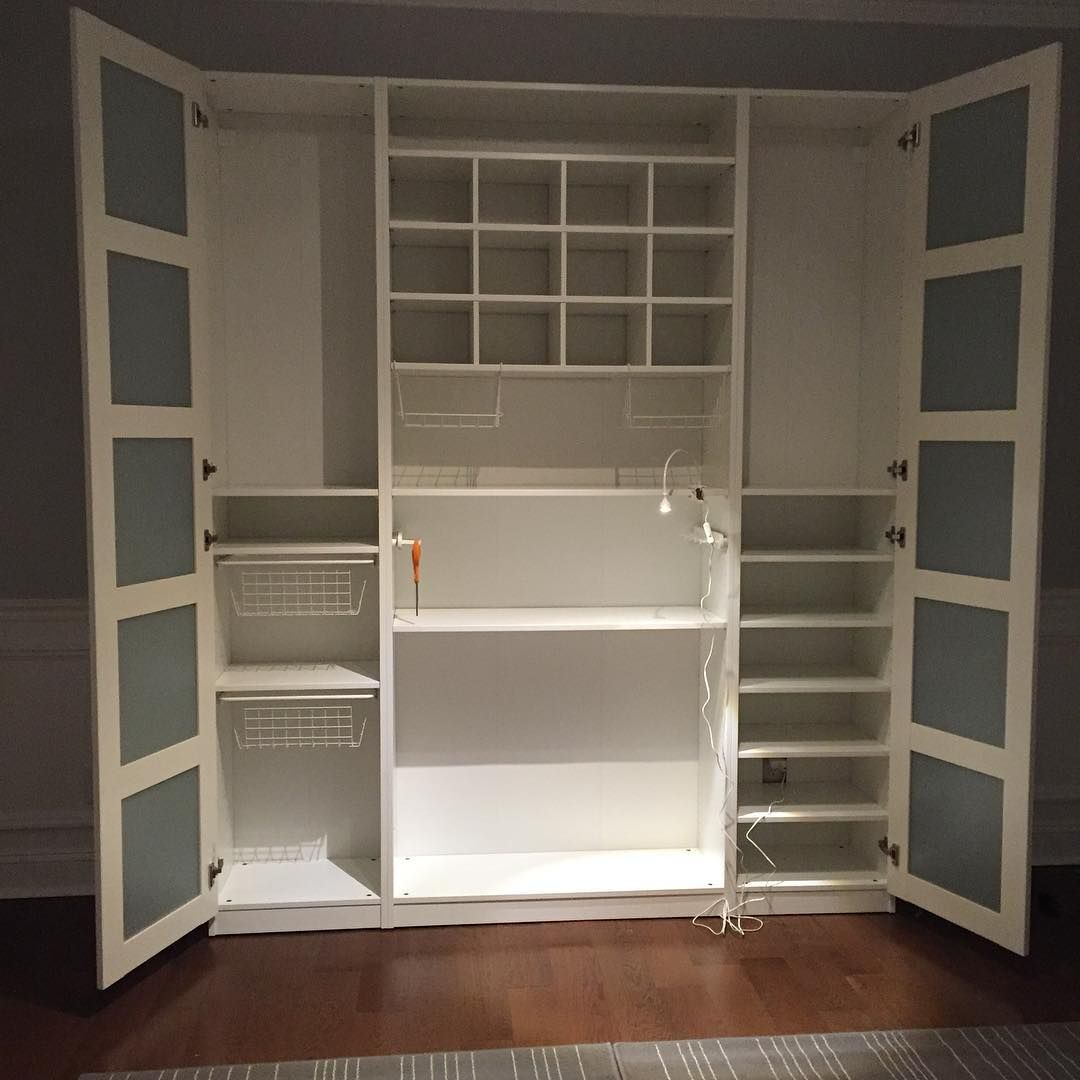It 39 s almost finished ikea ikeapax craftroom for Raumgestaltung vintage