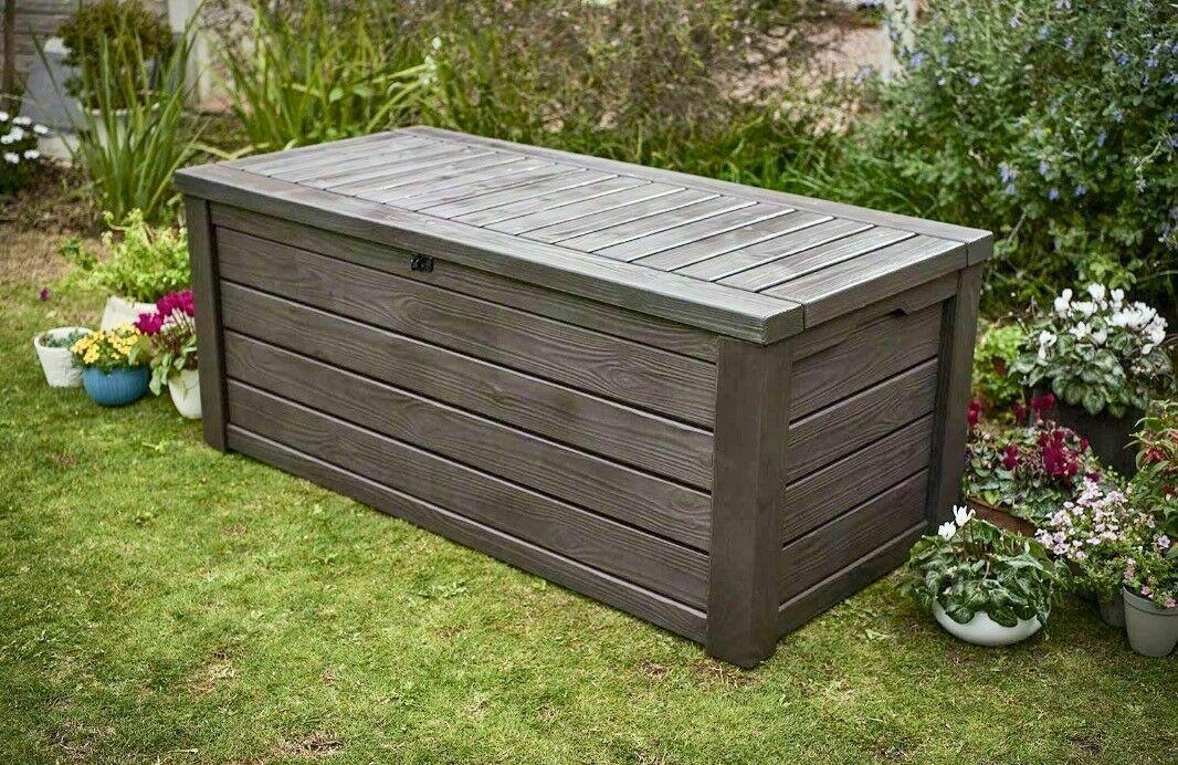 Dunes Large Cushion Storage Box Sol 72 Outdoor Waterproof Garden