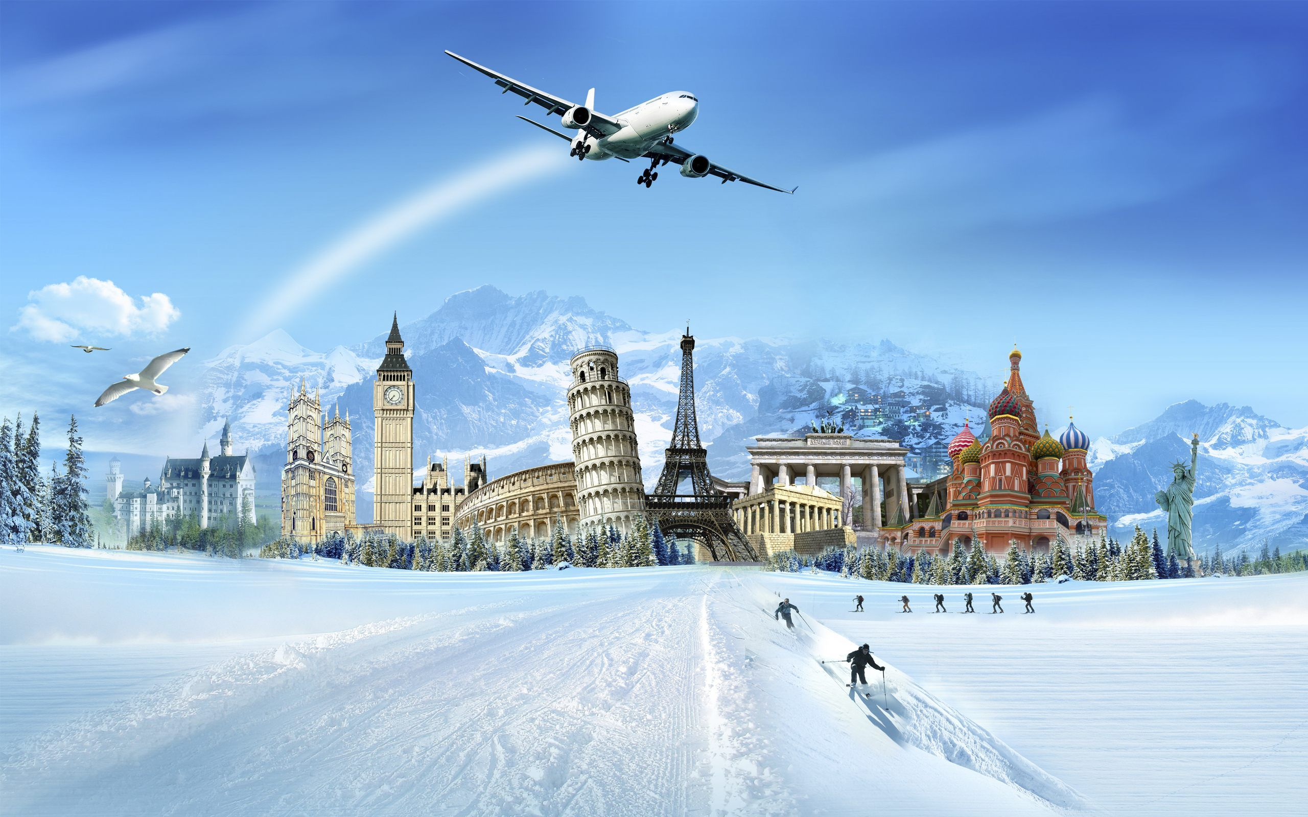 World Travel Wallpaper Of World Famous Places Wallpaper Europe Group Tours Honeymoon Tour Packages Holiday Tours