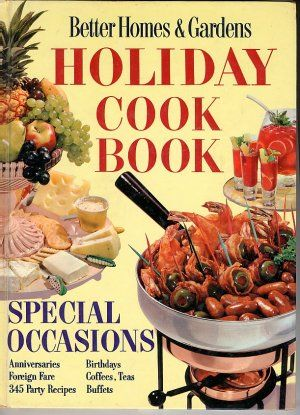 Better Homes And Gardens Christmas Cookbook