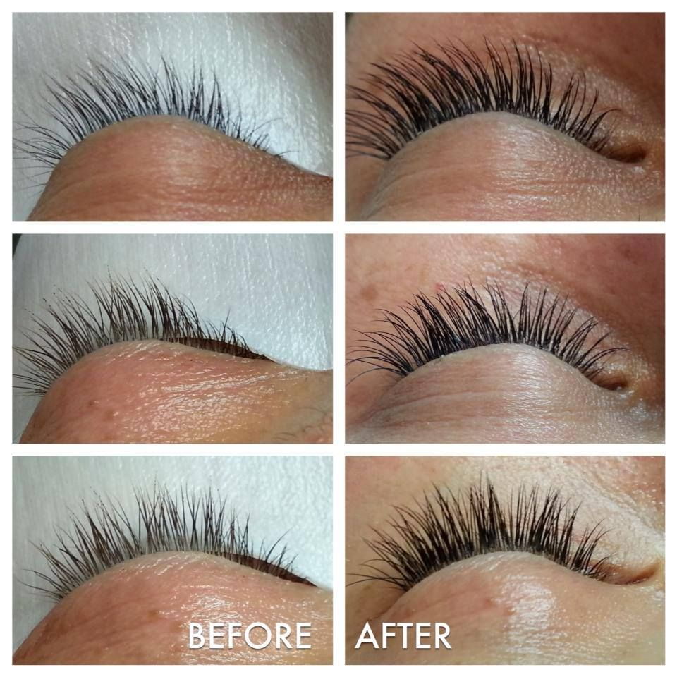 c8b8f1af0aa Before and After semi-permanent eyelash extensions | The Lash Way ...