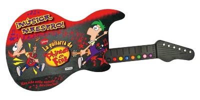 ¡Música Maestro: La Guitarra de Phineas y Ferb a sólo $300 en Gandhi!