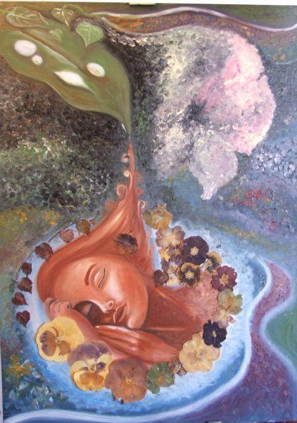 """Creata dalla natura"", by Stefania Rosatelli"
