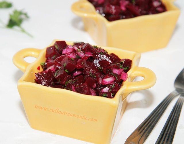 Salade de betteraves à la marocaine