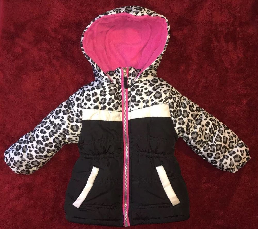 price reduced price remains stable online sale PINK PLATINUM Winter Coat Multicolored Animal Print Girls ...