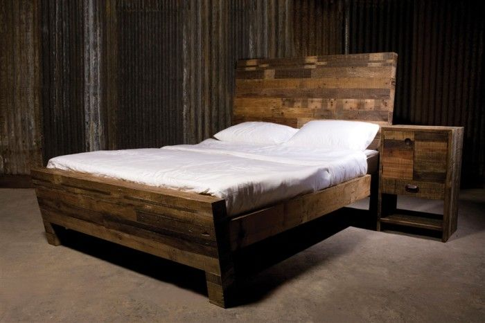 Gorgeous & Rustic Reclaimed Wood Bedroom Furniture  Httpwww Extraordinary Barn Wood Bedroom Furniture Inspiration