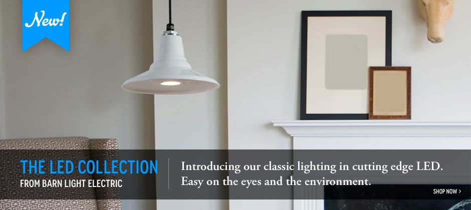 American Made LED Lighting and classic nostalgic designs from Barn ...