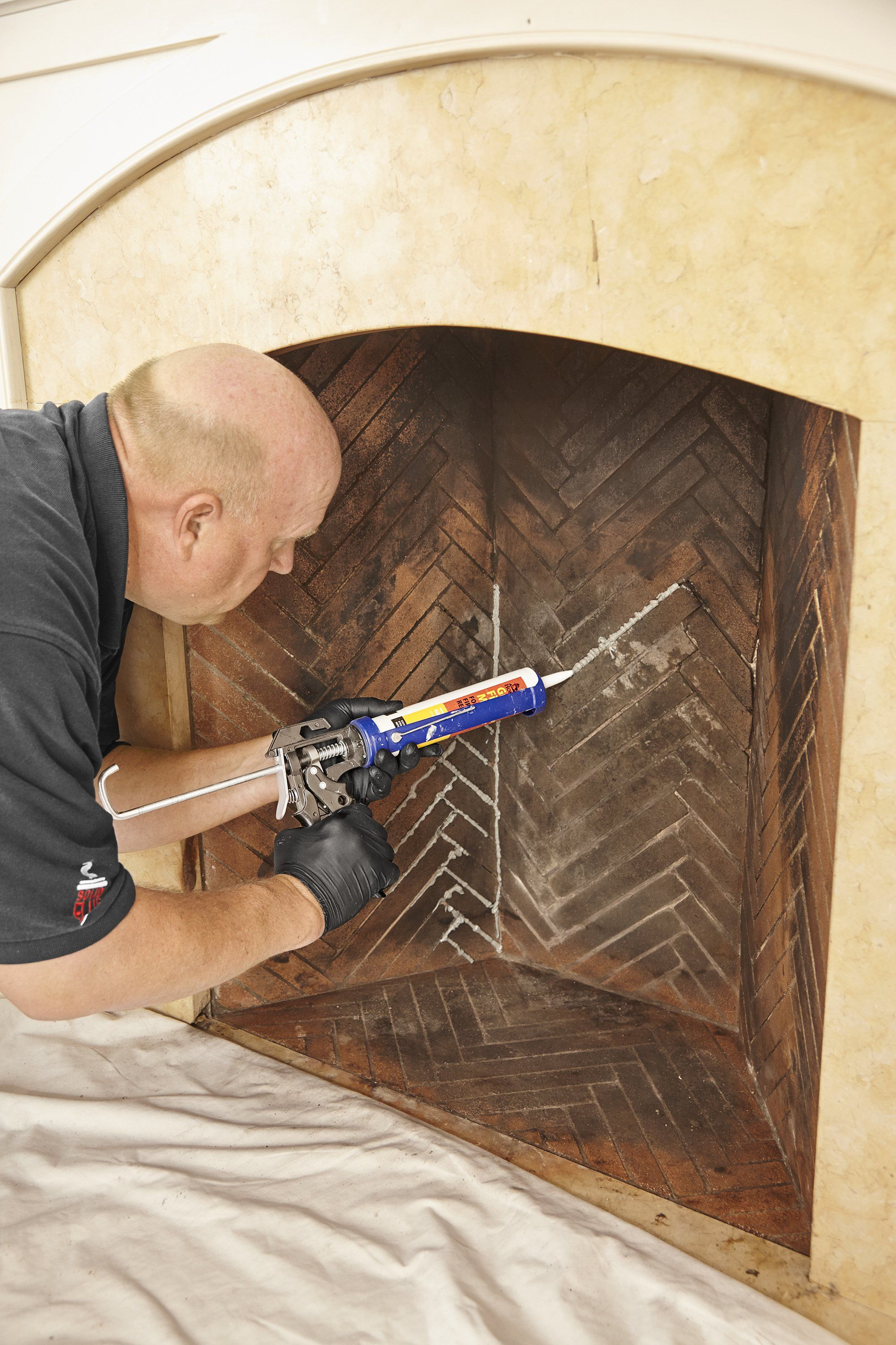 How To Repoint A Brick Fireplace Brick Fireplace Fireplace