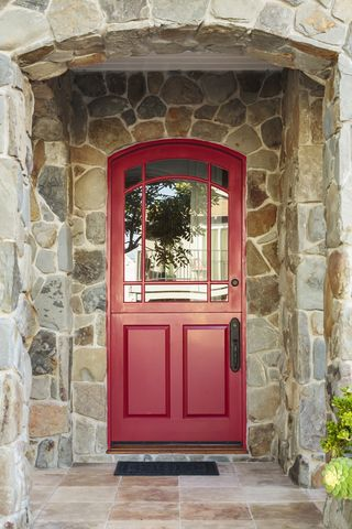 Red front doors are signature Feng Shui. Why do we recommend red? Red is an auspicious color and it also helps the door stand out, which attracts more energy and opportunities to you. See my Finding Your Fiji Blog on Tumblr for my article, Shut the Front Door...or Open It!