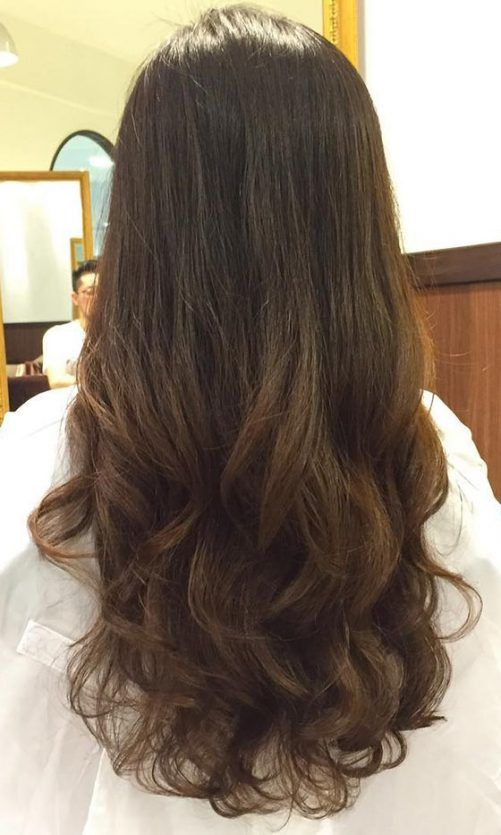 40 Styles To Choose From When Perming Your Hair Permed Hairstyles Long Hair Perm Digital Perm