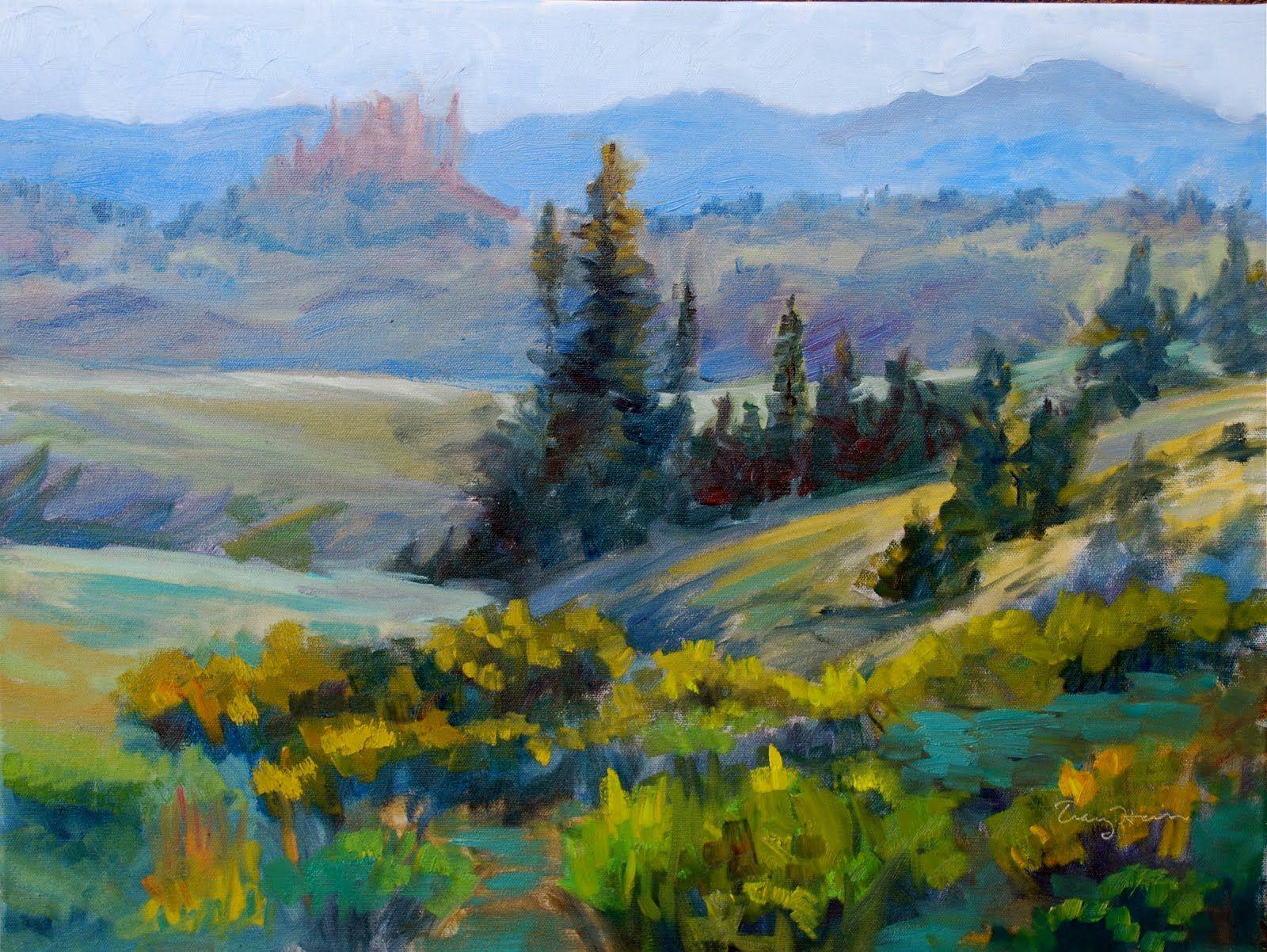 Pastel Landscapes Colorado Landscape Paintings By 400 x 300