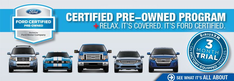 All Ford PreOwned Vehicles Come With Months Of Sirius Radio - Ford dealership medford oregon