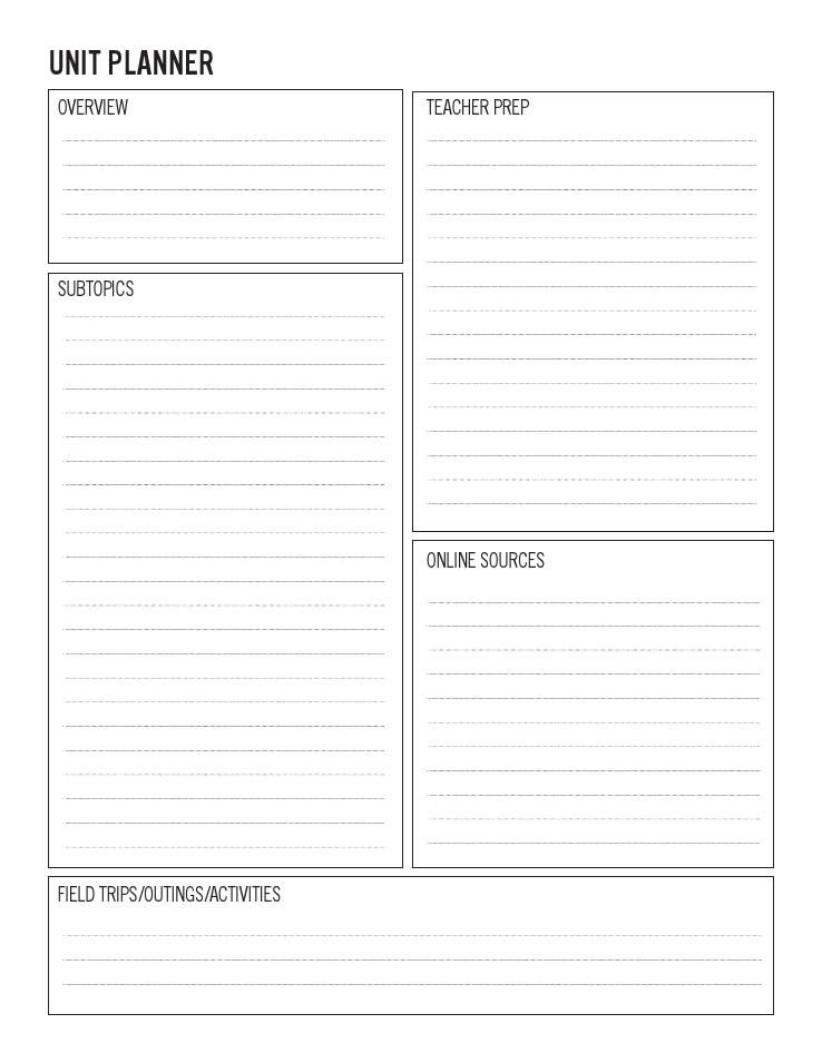 unit study planning sheets pdf files for unit study amazing