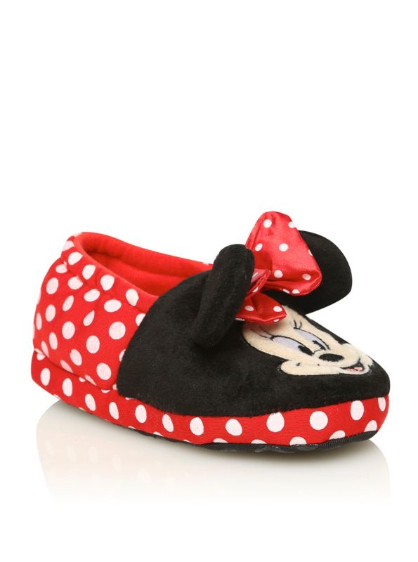 Minnie Mouse Slippers | Girls | George
