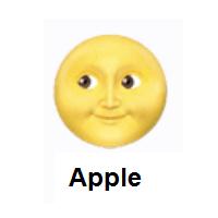 Full Moon Face Emoji In 2020 Moon Face Moon Face Emoji Full Moon
